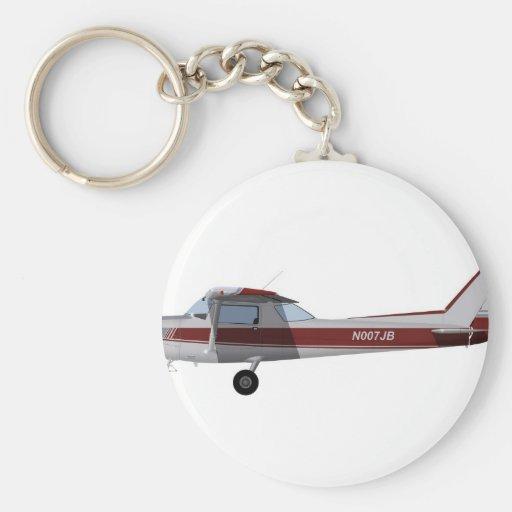 Cessna 152 392392 llavero redondo tipo pin