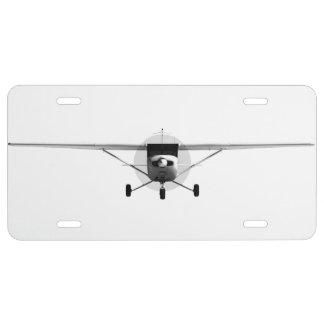 Cessna 152 license plate
