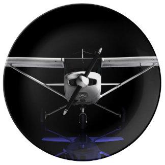 Cessna 152 Showroom. Porcelain Plate