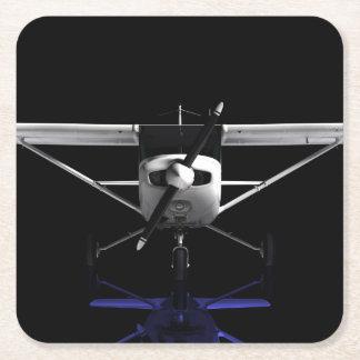 Cessna 152 Showroom. Square Paper Coaster