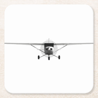 Cessna 152 square paper coaster
