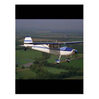 Cessna 170, 1948,_Classic Aviation Postcard