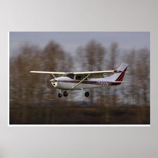 Cessna 172 Short Final Poster