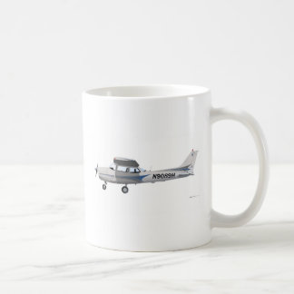 Cessna 172 Skyhawk Blue Coffee Mug
