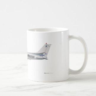 Cessna 172 Skyhawk Blue Coffee Mug