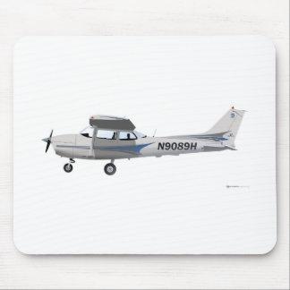 Cessna 172 Skyhawk Blue Mouse Pad