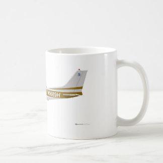 Cessna 172 Skyhawk Brown Coffee Mug