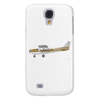 Cessna 172 Skyhawk Brown Galaxy S4 Case