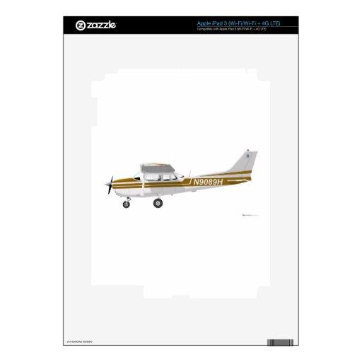 Cessna 172 Skyhawk Brown iPad 3 Skin