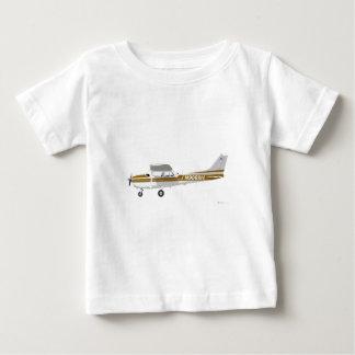 Cessna 172 Skyhawk Brown Remeras