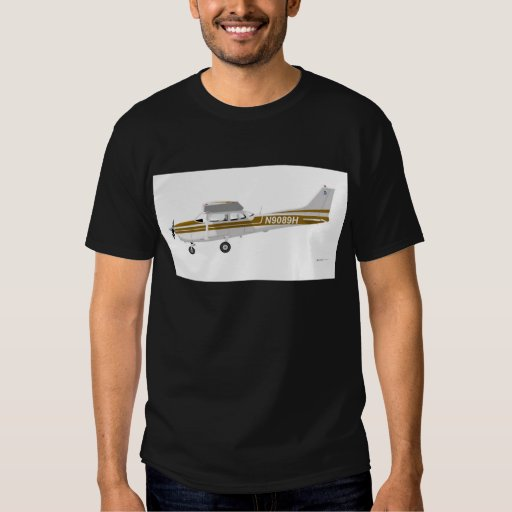 Cessna 172 Skyhawk Brown Remeras