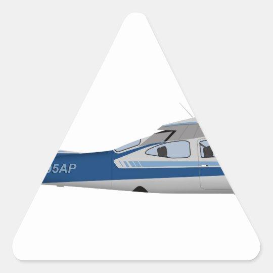 Cessna 177RG Cardinal 395395 Triangle Sticker