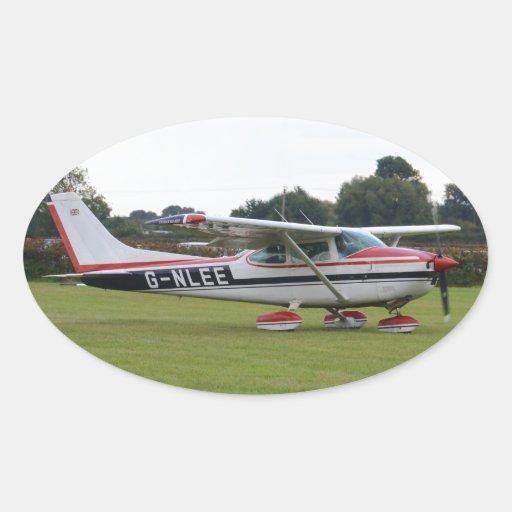 Cessna 182Q Oval Sticker