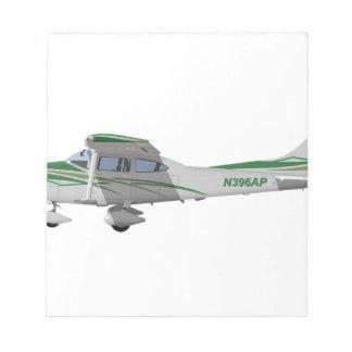 Cessna 182T Turbo Skylane II 396396 Blocs De Papel