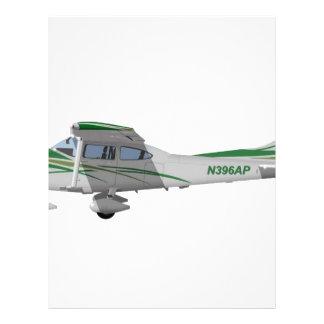 Cessna 182T Turbo Skylane II 396396 Plantillas De Membrete
