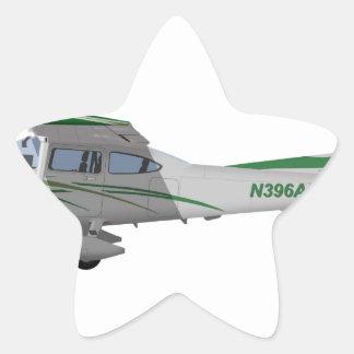Cessna 182T Turbo Skylane II 396396 Pegatina En Forma De Estrella