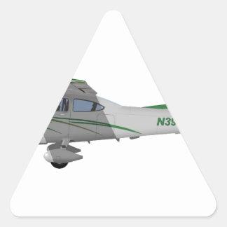 Cessna 182T Turbo Skylane II 396396 Pegatina Triangular