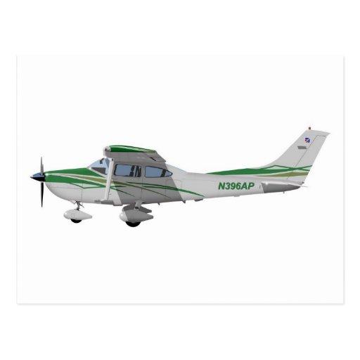Cessna 182T Turbo Skylane II 396396 Postcard