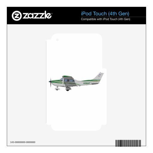 Cessna 182T Turbo Skylane II 396396 iPod Touch 4G Skins