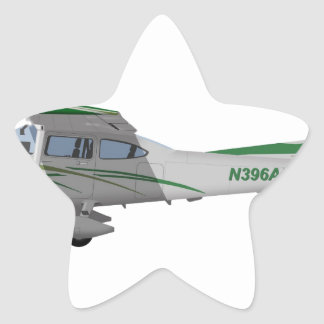 Cessna 182T Turbo Skylane II 396396 Star Sticker