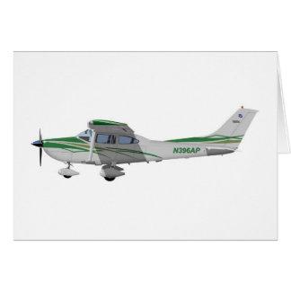 Cessna 182T Turbo Skylane II 396396 Tarjeta De Felicitación