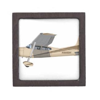 Cessna 185 Skywagon 390390 Caja De Recuerdo De Calidad