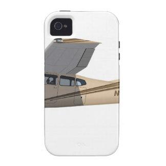 Cessna 185 Skywagon 390390 Funda Vibe iPhone 4