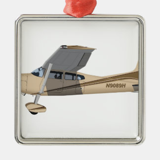 Cessna 185 Skywagon 390390 Metal Ornament