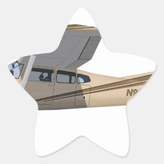 Cessna 185 Skywagon 390390 Pegatina En Forma De Estrella