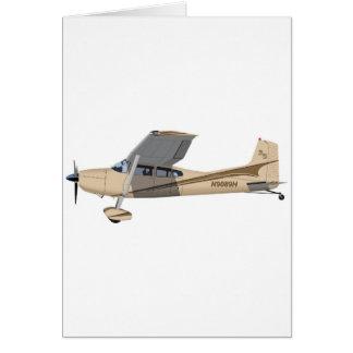 Cessna 185 Skywagon 390390 Tarjeta De Felicitación
