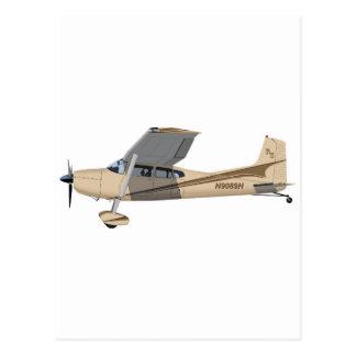 Cessna 185 Skywagon 390390 Tarjeta Postal