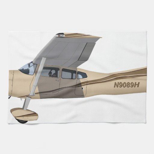 Cessna 185 Skywagon 390390 Towel