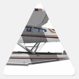Cessna 185 Skywagon II 284547 Pegatina Triangular