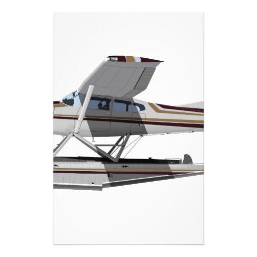 Cessna 185 Skywagon II 284547 Customized Stationery