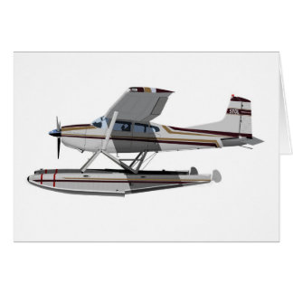 Cessna 185 Skywagon II 284547 Tarjeta De Felicitación