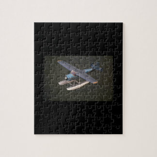 Cessna 195, 1949, Seattle_Classic Aviation Jigsaw Puzzle