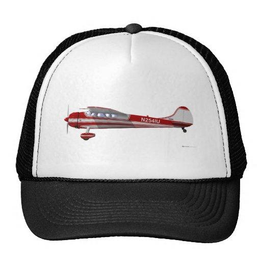 Cessna 195 mesh hat