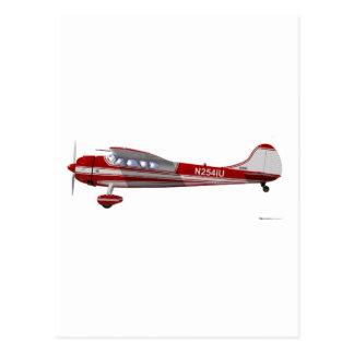 Cessna 195 postcard