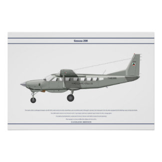 Cessna 208 Afghanistan Posters