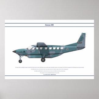 Cessna 208 Brazil Posters
