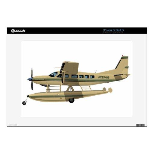 """Cessna 208 Caravan II Decals For 15"""" Laptops"""
