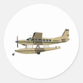 Cessna 208 Caravan II Round Sticker