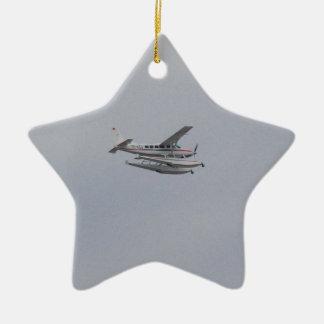 Cessna 208 Caravan Seaplane Ceramic Ornament