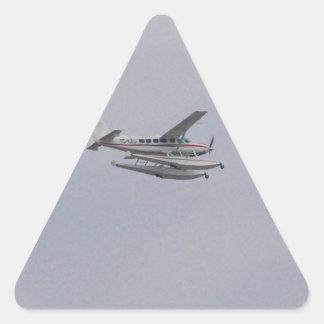 Cessna 208 Caravan Seaplane Triangle Sticker