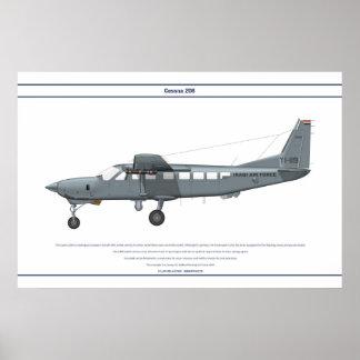 Cessna 208 Iraq Print