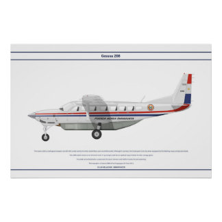 Cessna 208 Paraguay Posters