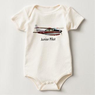 Cessna 210 Junior Pilot body Baby Bodysuit