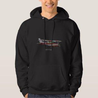 Cessna 210 Men's Basic Hooded Sweatshirt