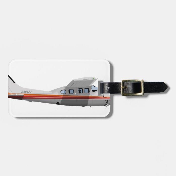 Cessna 210P Centurion 394394 Luggage Tag