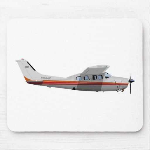 Cessna 210P Centurion 394394 Mouse Pad